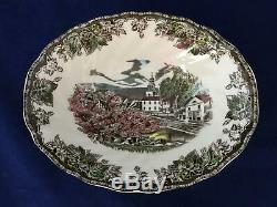 12 Johnson Brothers FRIENDLY VILLAGE 7 Piece Place Settings + EXTRAS 94 Pieces