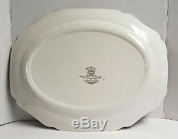 20 Johnson Brothers Heritage Hall Large Serving Platter Multicolor Gothic House