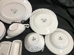 21 Piece Lot Johnson Brothers MELODY England Bowls, Plates, Serving Pcs