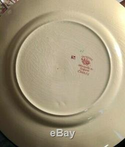 6 Johnson Brothers Old English Chintz Pink 10 Dinner Plates