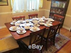 6 Place Settings plus Serving Pieces Johnson Brothers China England Local Pickup
