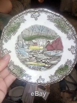 7 JOHNSON BROTHERS China FRIENDLY VILLAGE Made in England Bowls