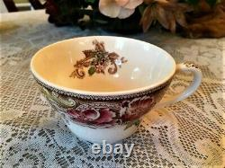 A Johnson Brothers Rare Devonshire Jumbo Cup & Saucer Art Deco Style