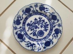Antique Johnson Bros. Holland Onion Flow Blue Flatware Set