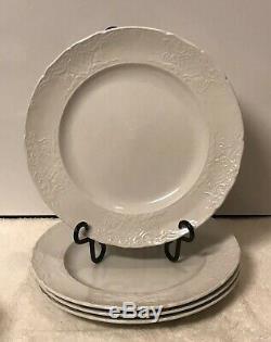 Antique Johnson Brothers Richmond White, Dinner, Salad Plates, Soup, Bread Bowls