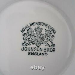 Antique Johnson Brothers Royal Ironstone England Compote/Pedestal Bowl