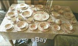 Antique Rose Chintz China Johnson Bros Made in England