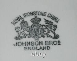 Antique Royal Ironstone China Chamber Pot Wheat Pattern Johnson Bros. England
