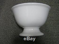 Antique Royal Ironstone China Johnson Bros England 8 1/2 Pedestal Footed Bowl