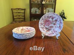 Beautiful 40pc Johnson Brothers Rose Chintz Dishes, Serves 8, Great Cond