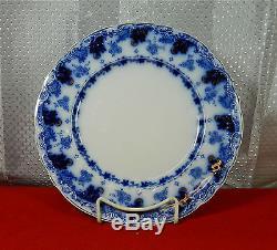 Beautiful Johnson Bros. Astoria Pattern Flow Blue 10 Dinner Plate