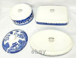 Blue Willow Cookware Johnson Bros. England 4 Pc Set