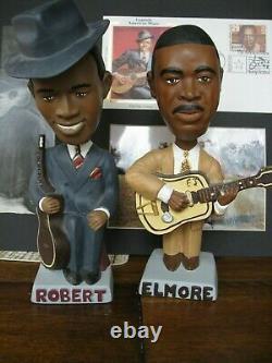 Bobbleheads Robert Johnson Elmore James Blues Rolling Stones Allman Brothers