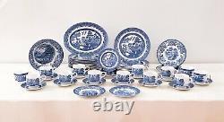 Churchill & Johnson Brothers Blue Willow 50-piece Dinnerware Set
