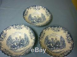 Coaching Scenes Ironstone Dishes, Johnson Bros Made in England