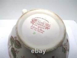 Cottagecore Vintage Johnson Bros Brothers Rose Chintz Teapot England Pink Mark