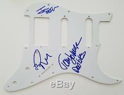 Doobie Brothers Signed Fender Strat Style Pickguard Tom Johnson +2 LEGENDS RAD