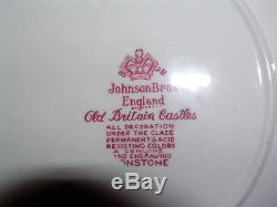 Edles Kaffeeservice Johnson Bros Old Britain Castles rot