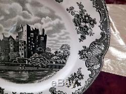 Edles Speiseservice Johnson Bros Old Britain Castles grün