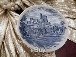 Edles Teeservice Johnson Bros England Old Britain Castles blau 23 teilig