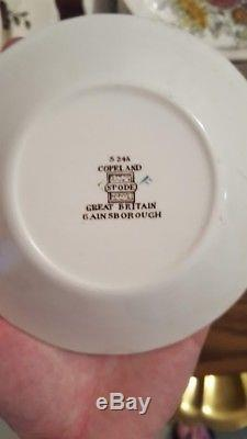 Gainsborough by Spode China & Sheraton by Johnson Brothers Floral (37 piece set)
