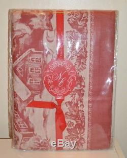 HTF Noble Excellence Twas Night Before Christmas Tablecloth Johnson Brothers