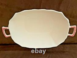 HTF Old Britain Castles Brown / Pink Johnson Brothers Lg. Rectangle Soup Tureen