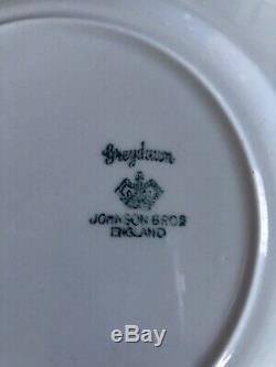 HUGE 80+ Piece Lot Johnson Brothers Grey Dawn (Greydawn) China