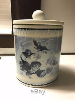 Harry Potter Traditional Storage Jar / Canister with Lid, Johnson Bros. 2001