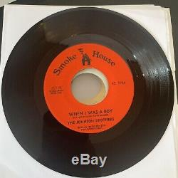 Hear! Rare Sweet Soul 45 Heat! The Johnson Brothers When I was a boy