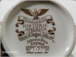 Historic America COFFEE POT Multi Colors-Johnson Brothers-Monticello