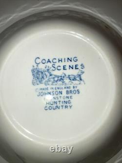 Iron Stone Coaching Scenes Johnson Bros Assortment of Dinnerware