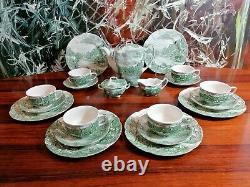 JOHNSON BROS England OLDE ENGLISH COUNTRYSIDE 21 tlgs Kaffeeservice für 6 Pers