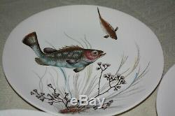 JOHNSON BROS fish plates complete set of all six designs