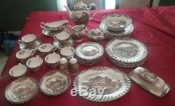 JOHNSON BROTHERS Ironstone HERITAGE HALL England 4411 Dishes service for 8