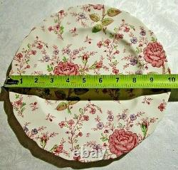 JOHNSON BROTHERS ROSE CHINTZ PINK, 6 Piece Place Setting for 4 + extras, Lot G