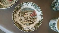JOHNSON Brothers FRIENDLY VILLAGE Christmas China 5o-piece