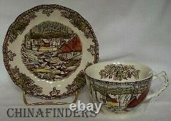 JOHNSON Brothers FRIENDLY VILLAGE Made in England 65-piece SET SERVICE for 10
