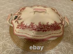 JOHNSON Brothers Twas the Night Before Christmas Large Covered Serving Bowl