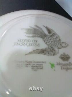 Johnson Bros. China Bird of Paradise Multiple Pieces