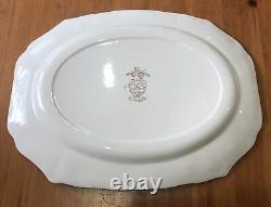 Johnson Bros England Windsor Ware Wild Turkeys Serving Platter Plate Tray 20x16