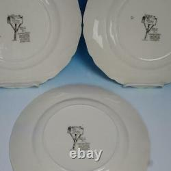 Johnson Bros Friendly Village 12 Dinner Plates All Different 10¾ inches