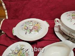 Johnson Bros Garden Bouquet (77-pieces)