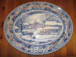 Johnson Bros Historic America 20 Thanksgiving Turkey Platter