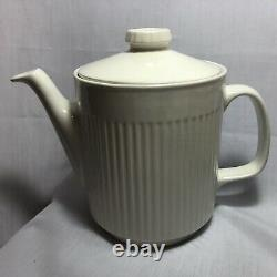 Johnson Bros Ironstone White Athena Lot Of 43 Pieces Plates Bowls Cups Tea Pot