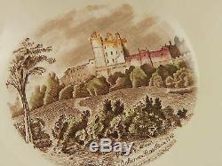 Johnson Bros Old Britain Castle Multicolor Rara Zuppiera Porcellana Vintage