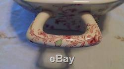 Johnson Bros Rose Chintz Large Rectangular Soup Tureen & LID Mint Condition