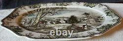 Johnson Bros The Friendly Village Large Serving Platter 20-1/4 x 15-7/8