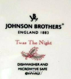 Johnson Bros Twas The Night Before Christmas Covered Tureen Casserole Dish Nwob