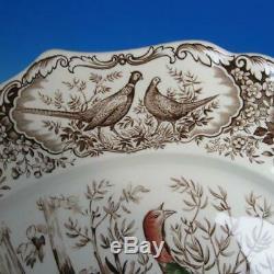 Johnson Bros Wild Turkeys Native American Turkey Platter 20½ x 15¾ inches